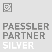 Paessler Silver Partner Logo - NetInf is a silver partner with Paessler